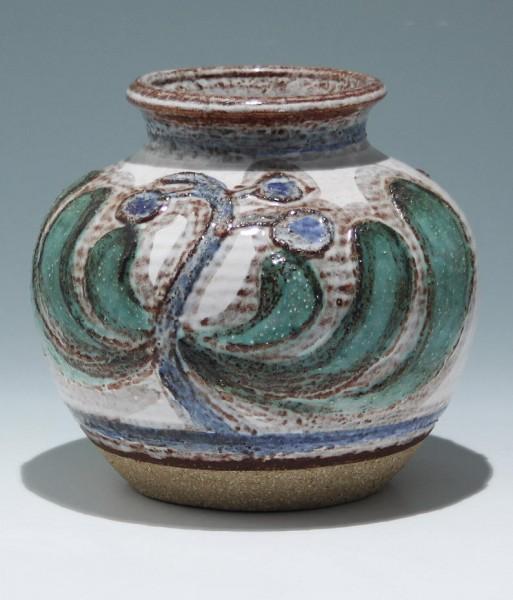 Steinzeug Vase SOHOLM Bornholm Denmark