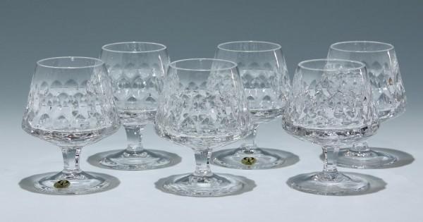 6 Peill Bleikristall Cognacgläser GRANADA