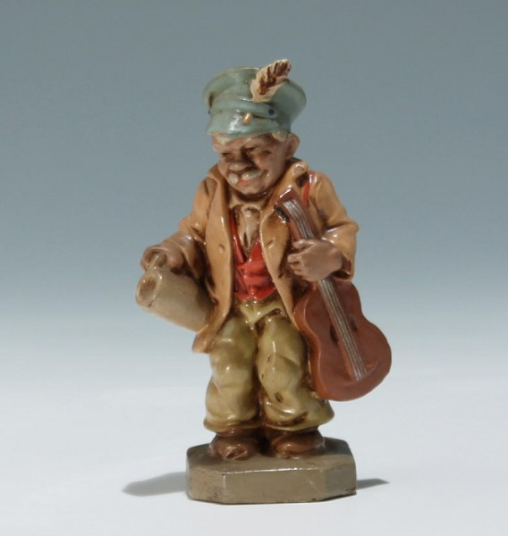 Alte Sonneberger Friedel-Figur GITARRIST