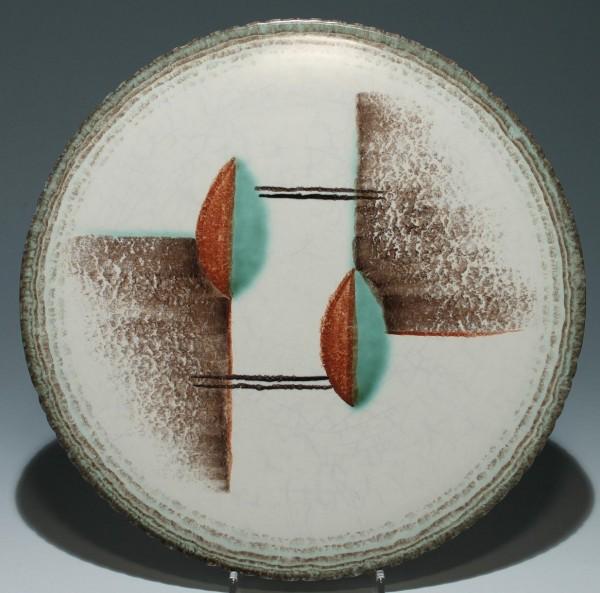 Art Deco Kuchenplatte Bauhaus Motiv 1930er Jahre
