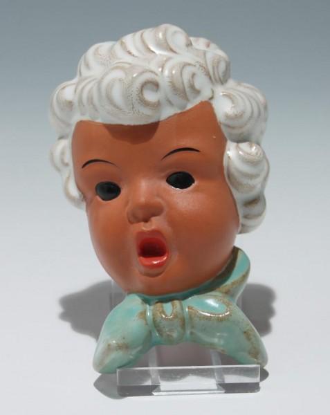 Goldscheider Terrakotta Kindermaske Entwurf Karl Sailer