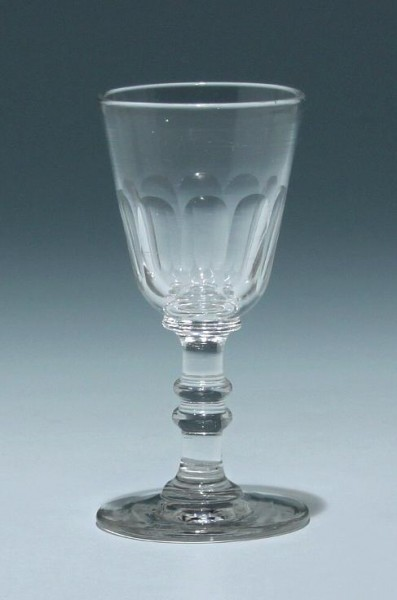 Kelchglas Frankreich 19. Jh. - Höhe 11,3 cm