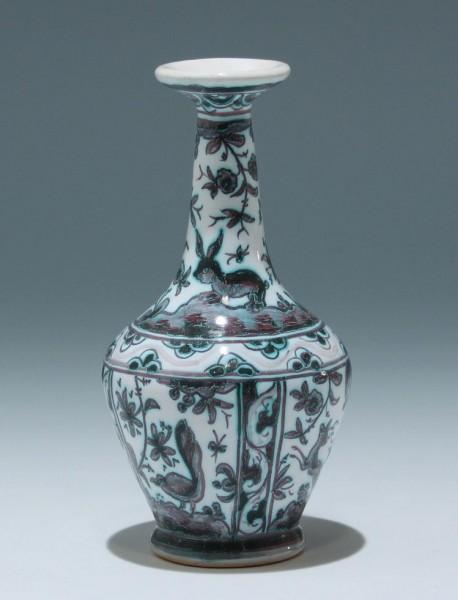 "Keramikvase ""handgemalt nach altem Original"""