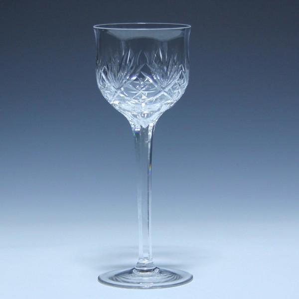 Jugendstil Halbkristall Weinglas Anfang 20. Jh.