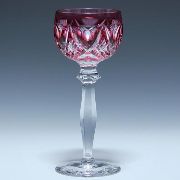 Peill Bleikristall Überfangrömer - rubin
