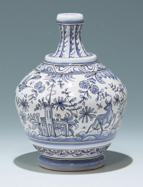 Handpainted Pottery Vase - Beraroos, Portugal