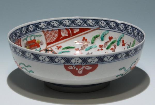 Handpainted Japanese Porcelain Imari Bowl - 20th. C. - Ø 21,7 cm