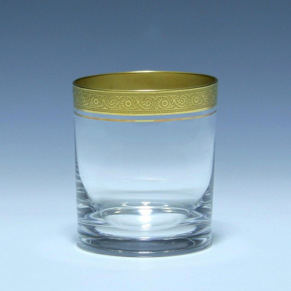 Theresienthal Whiskeyglas MARLOWE Minton-Goldätzkante