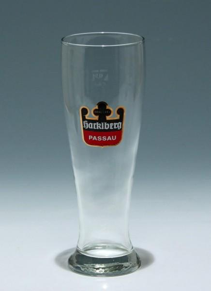 Weizenbierglas HACKLBERG PASSAU 0,5 L.