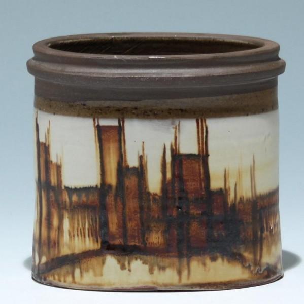 Signierte Keramikvase - Inge Lise Eder - Denmark