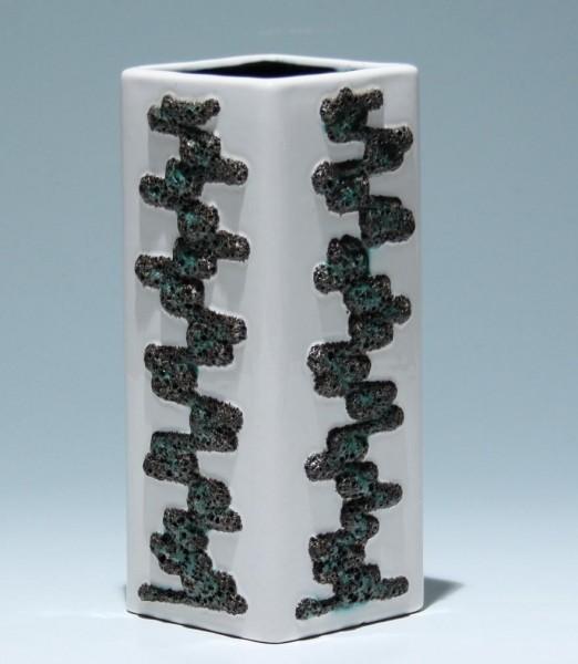 FOHR Keramik Lava Vase 341/20 1960er Jahre