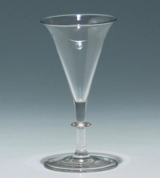Kleines Kelchglas / Trichterpokal - 19. Jh.
