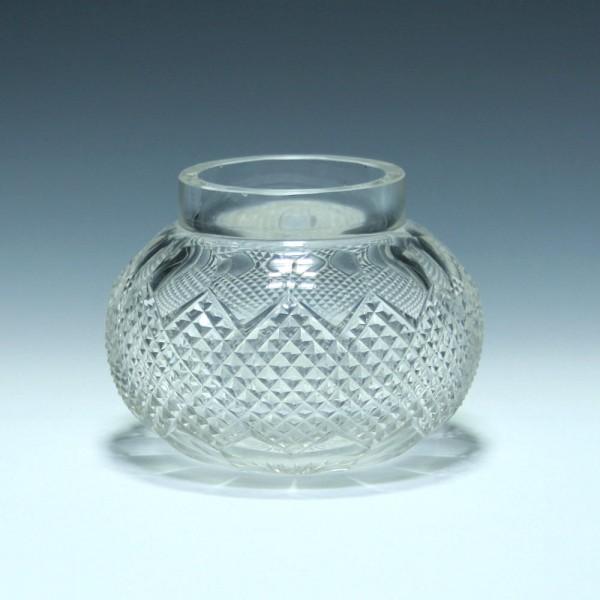 Art Deco Bleikristall Rosebowl - 1920/30er Jahre