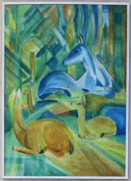Gemälde im Stil von Franz Marc #2