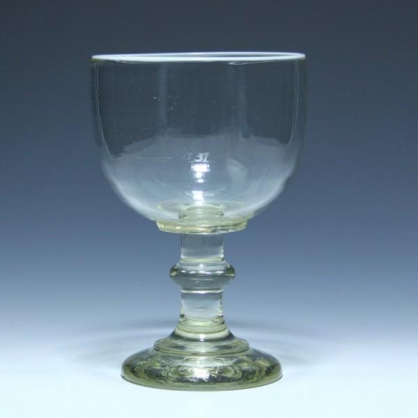 Berliner Weiße Glas mit Weißrand und Eichung 0,3 L. - um 1900