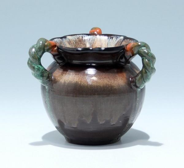 Kleine Art Deco Keramikvase - Georgenthal um 1935