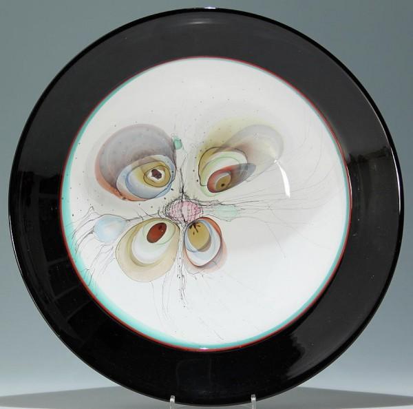 Große Studioglasschale signiert Ingrid Donhauser `95