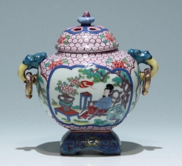 Chinese Porcelain Censer - 2. H. 20th C.