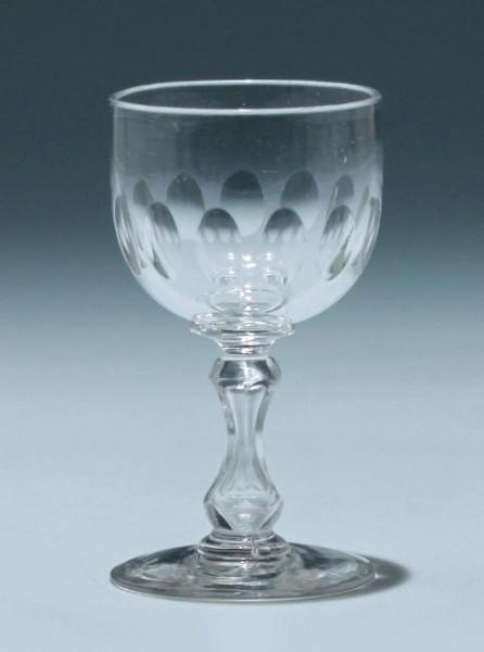 Hohlschaftglas Frankreich circa 1900 - Höhe 10,8 cm