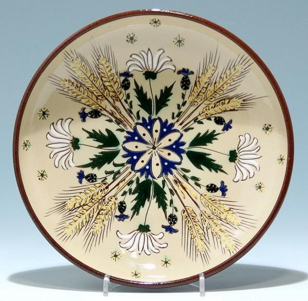 Keramikwandteller - 2. H. 20. Jh.