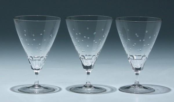 3 Spiegelau Kelchgläser 1950er Jahre