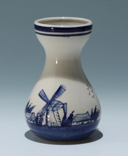 Handbemalte Keramik Hyazinthenvase