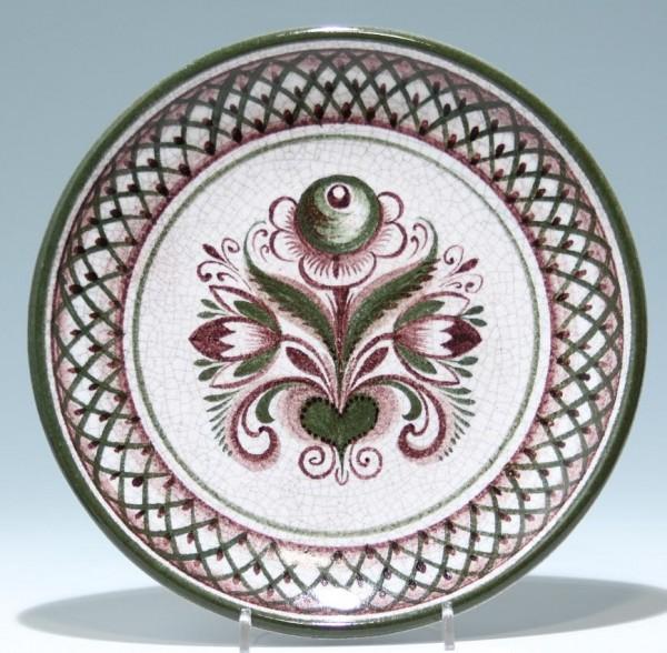 Keramik Wandteller aus GMUNDEN