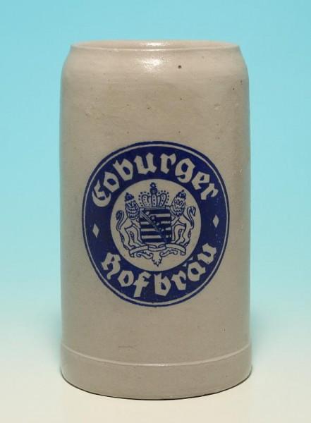 Bierkrug Coburger Hofbräu 1 L.