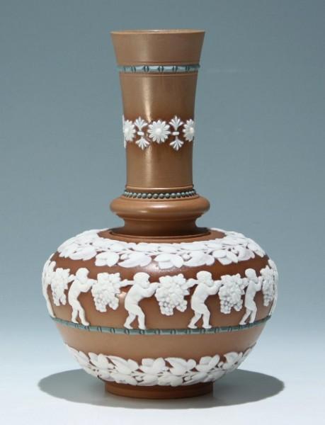 Royal Doulton SILICON Vase, Latham, England 1881-1891