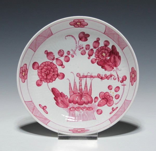 Rauenstein Porzellanschälchen Untertasse für Koppchen um 1800