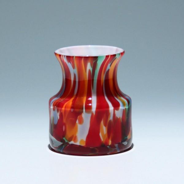 Massive Glasvase 1970er Jahre - Höhe 12,5 cm-Copy