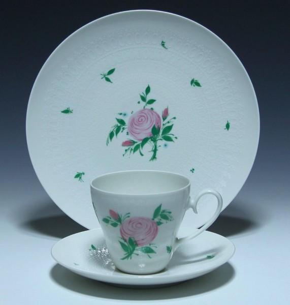 Rosenthal Kaffee Gedeck ROMANZE ROSA ROSE