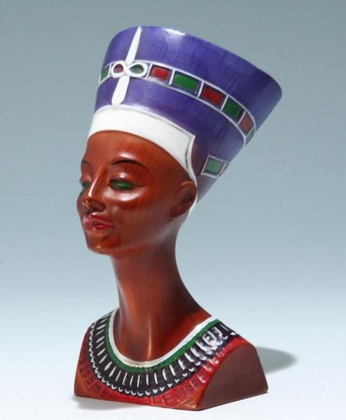 Cortendorf Keramik Figur NOFRETETE - 1960er Jahre
