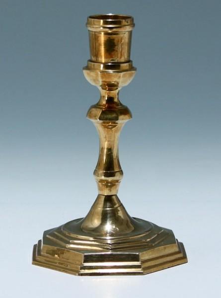 Kleiner Messing Kerzenleuchter - 2. H. 20. Jh.