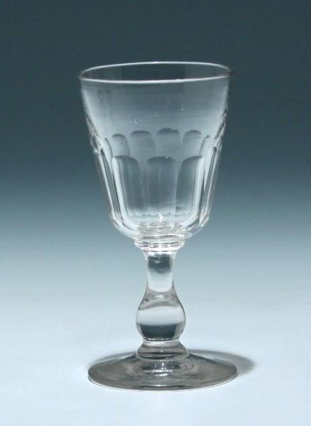 Kelchglas Frankreich 19. Jh. - Höhe 11,6 cm