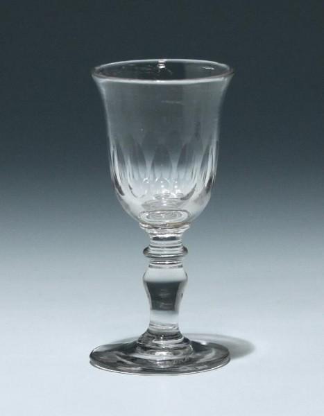 Kleines Kelchglas Frankreich 19. Jh. - Höhe 10,6 cm