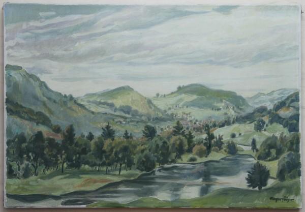 Ölgemälde LANDSCHAFT von Georg Mayer-Pröger (1896 - 1967)