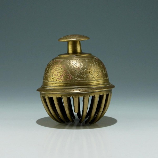 Indian Casted Brass Bell - 20th. C.