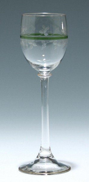 """Theresienthal Jugendstil Weinglas """"Form 1615"""""""