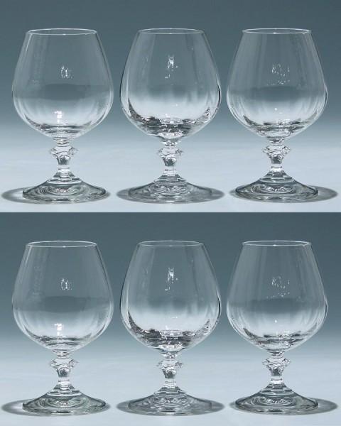 6 Spiegelau Cognacgläser FEDORA
