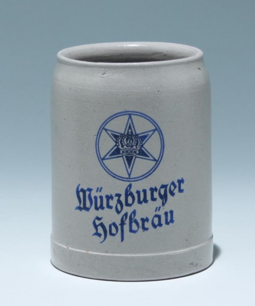 Bierkrug WÜRZBURGER HOFBRÄU 0,4 L