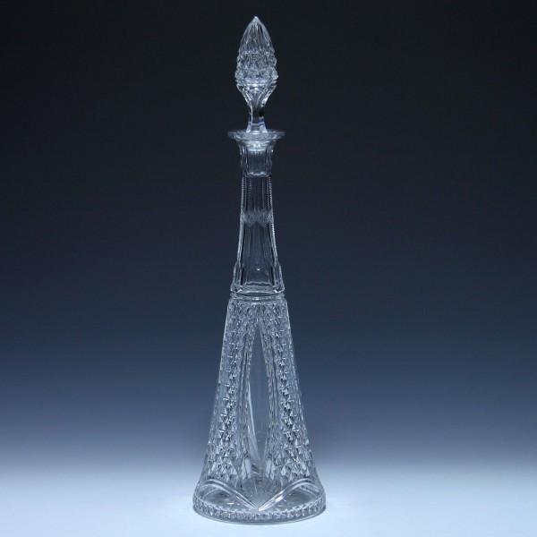 Bleikristall Karaffe Val Saint Lambert circa 1910 - 42 cm-Copy