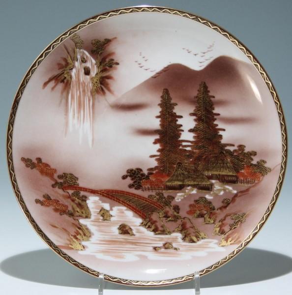 Handbemalter Porzellanteller - Japan 20. Jh.