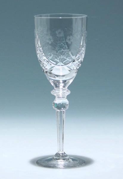 Hoher Bleikristall Pokal - Ende 20. Jh. - 23,8 cm