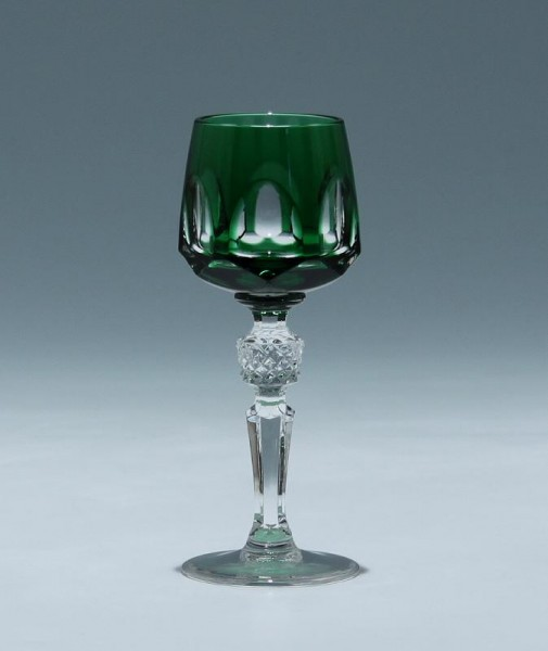 Nachtmann Bleikristall Likörrömer ANTIKA - smaragd