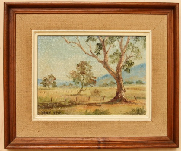 Small Painting - Australian Artist Dawn O`Dea (1931–1977)