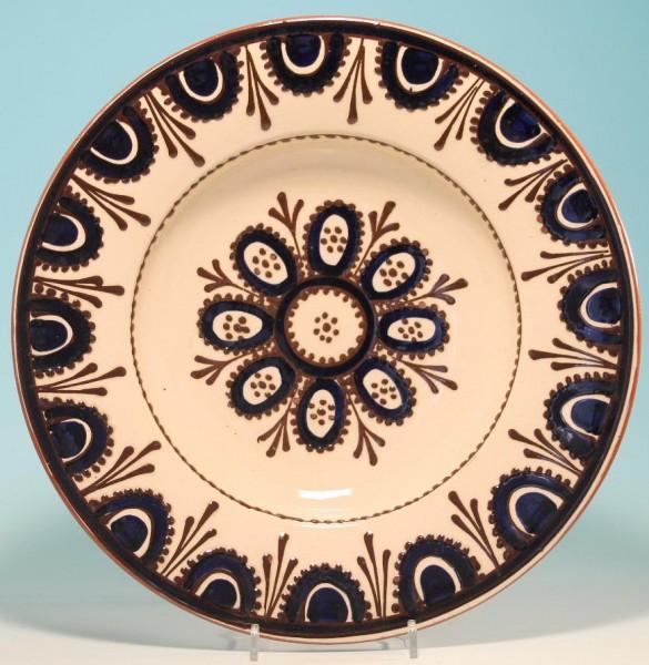 Großer Keramik Wandteller 31,5 cm