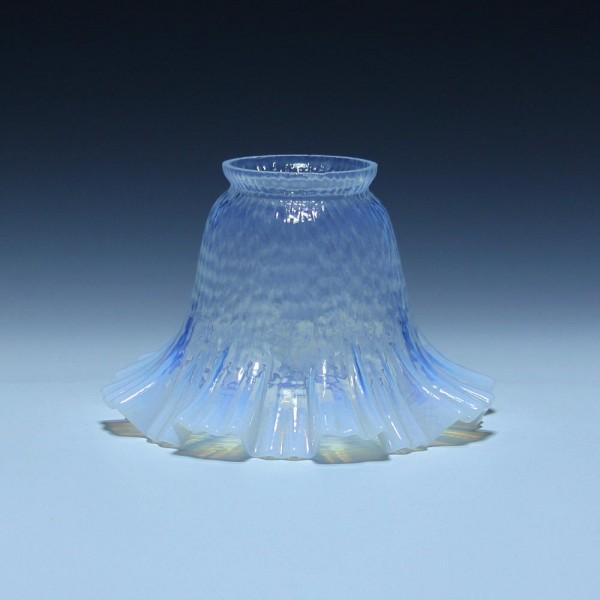Opalisierender Jugendstil Lampenschirm in Blütenform - Ø 15 cm