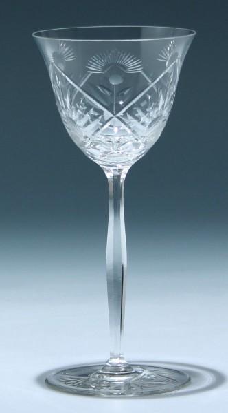 Art Deco Weinglas 1930er Jahre