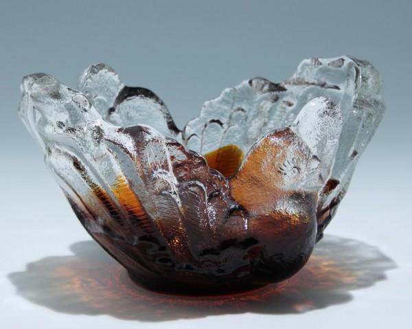 Bleikristall Schale Entwurf Pertti Santalahati für Humppila